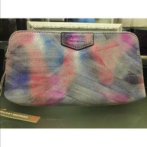 Aimee Kestenberg Gala Clutch Violet Brushed Wallet